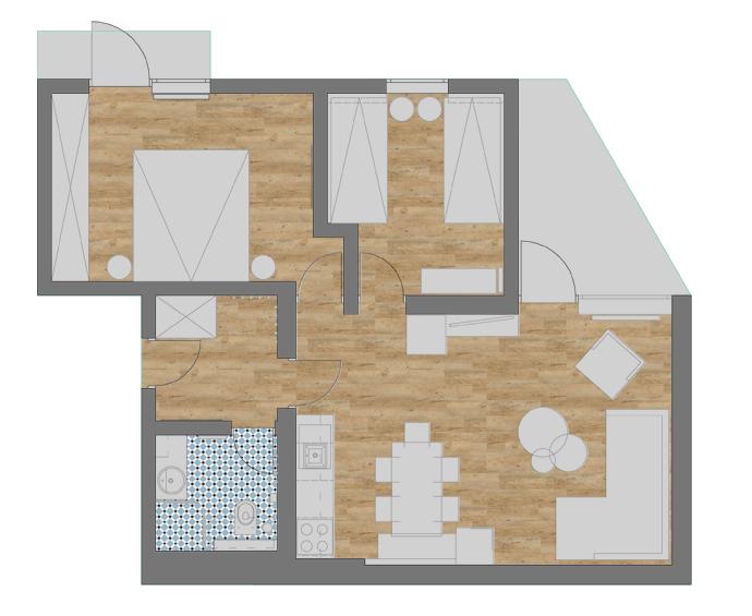 tloris-stanovanjam