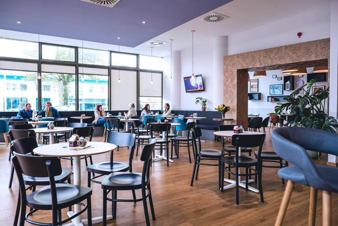 Apart From The Indoor Seating There Is Also A Terrace And The Parking Is  Always Available Which Is A Grat Plus. Part 76