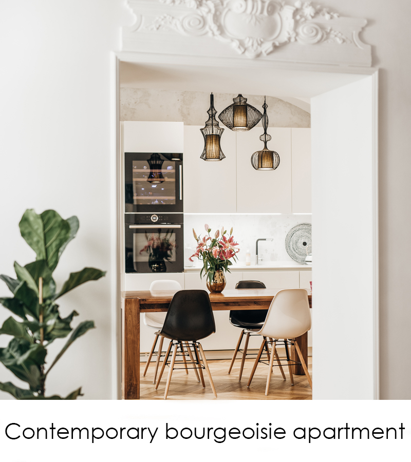 Contemporary bourgeoisie apartment